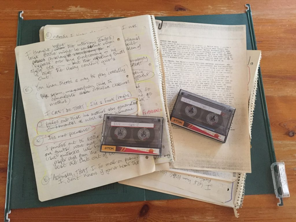tapes and papers