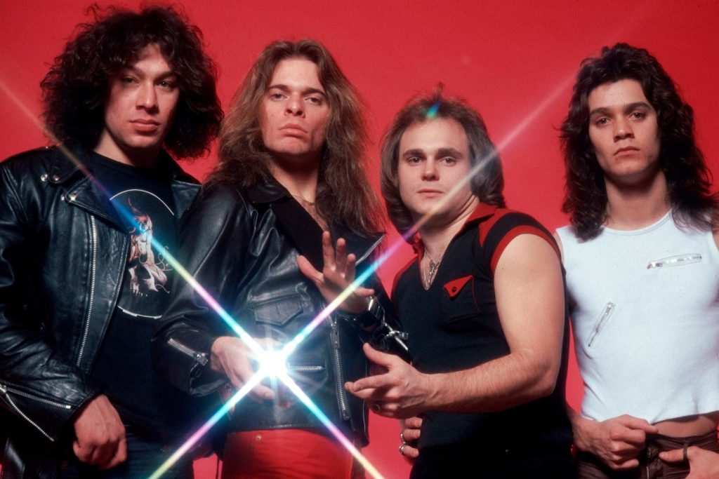 Eddie with his band